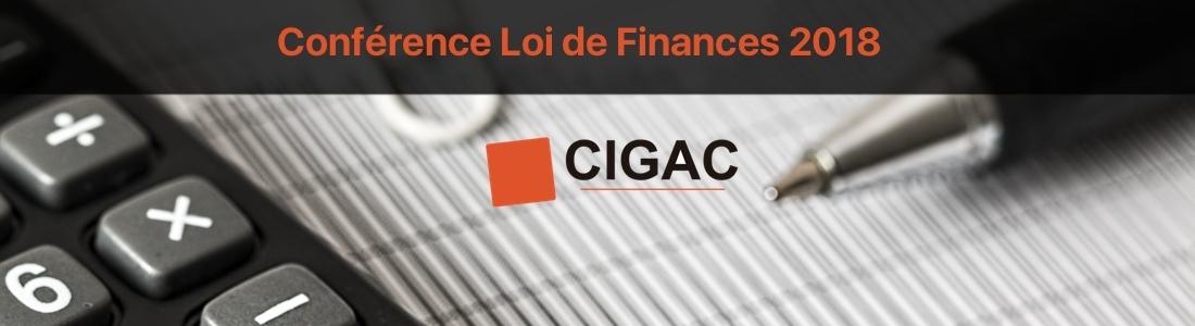Tenez-vous informés sur la Loi de Finances 2018